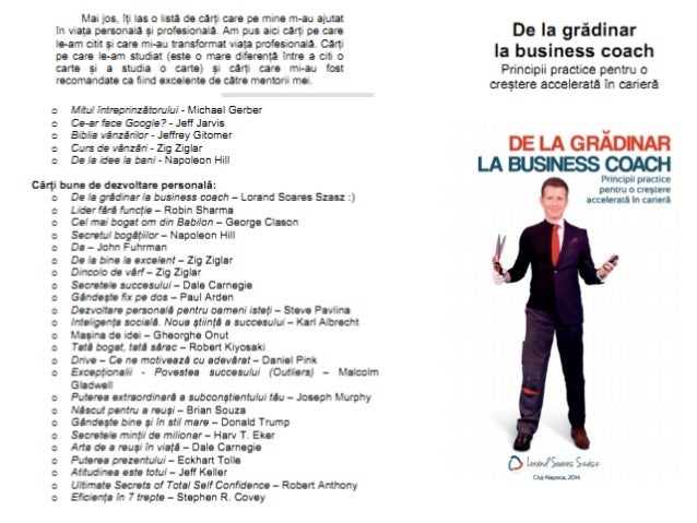 Lista carti de studiat propusa de Lorand Soares Szasz
