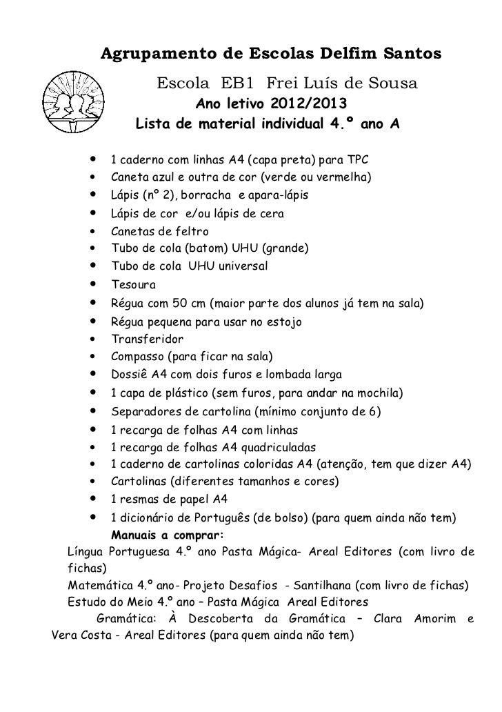 Agrupamento de Escolas Delfim Santos                     Escola EB1 Frei Luís de Sousa                       Ano letivo 20...