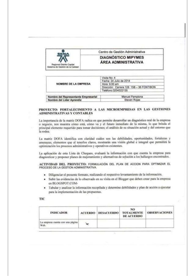 VISITA No. 4 MOVILINE EXPRESS MPG SAS 1. TICS A. TABULACIÓN: PREGUNTA ACUERDO DESACUERDO NO TOTALMENTE DE ACUERDO 1 X 2 X ...