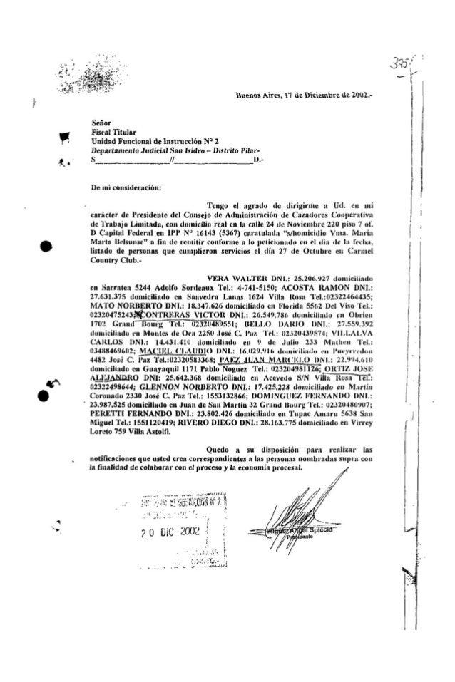 Listado guardias del 27-10-2002