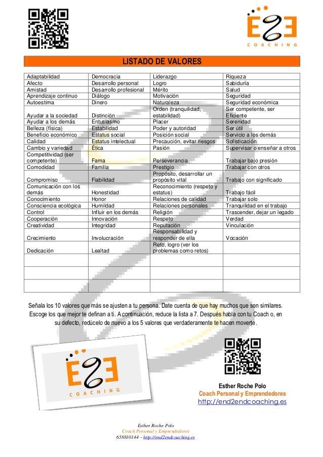 Listado de valores 1 638gcb1412135614 listado de valores esther roche polo coach personal y emprendedores 658810144 httpend2endcoaching thecheapjerseys Gallery