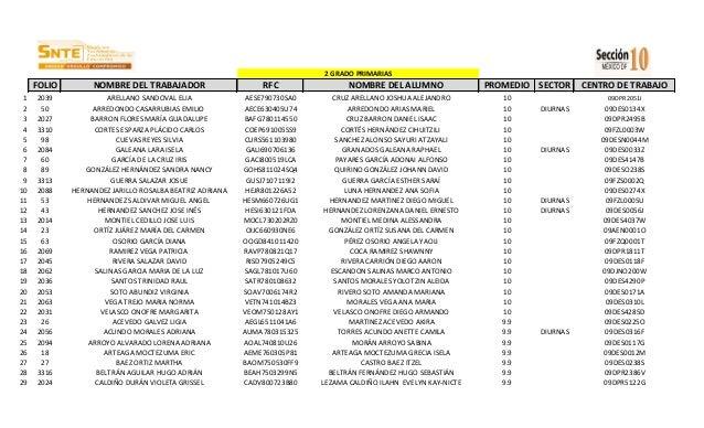 2 GRADO PRIMARIAS  FOLIO 1 2 3 4 5 6 7 8 9 10 11 12 13 14 15 16 17 18 19 20 21 22 23 24 25 26 27 28 29  NOMBRE DEL TRABAJA...