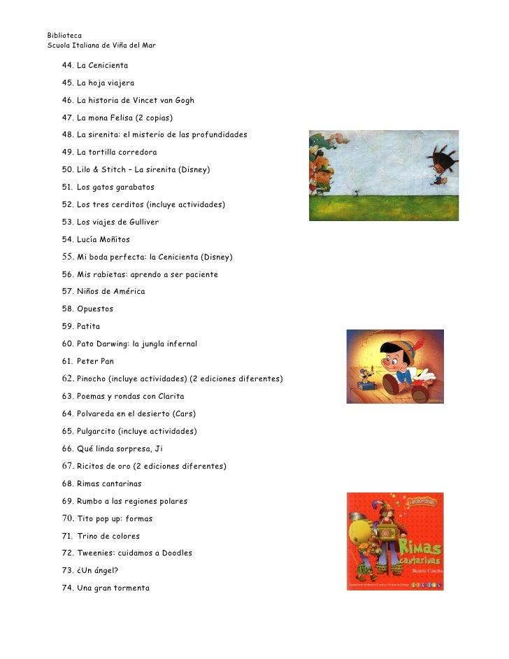 libros infantiles lista