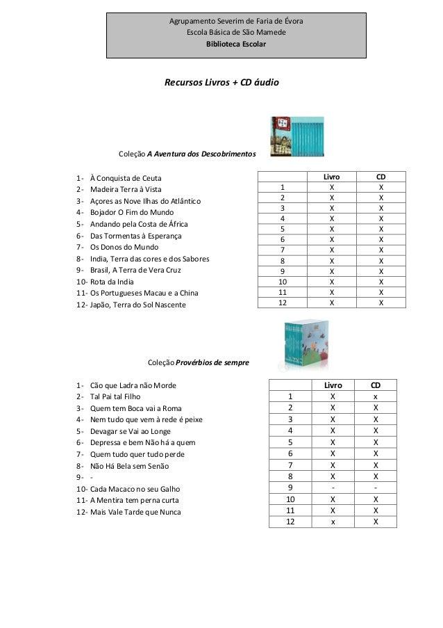 Recursos Livros + CD áudio Coleção A Aventura dos Descobrimentos 1- À Conquista de Ceuta 2- Madeira Terra à Vista 3- Açore...