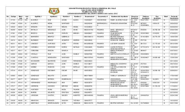 0004-INSTITUCION EDUCATIVA TECNICA COMERCIAL DEL VALLE                                                                    ...