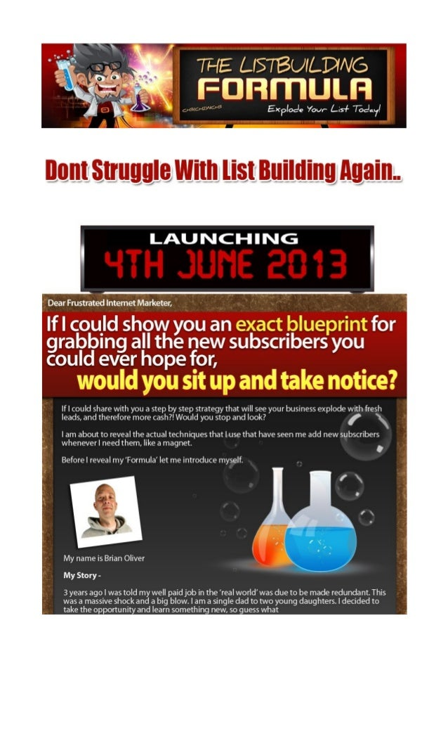 List Building System