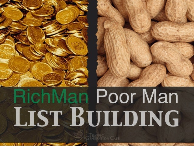 RichMan List Building Poor Man
