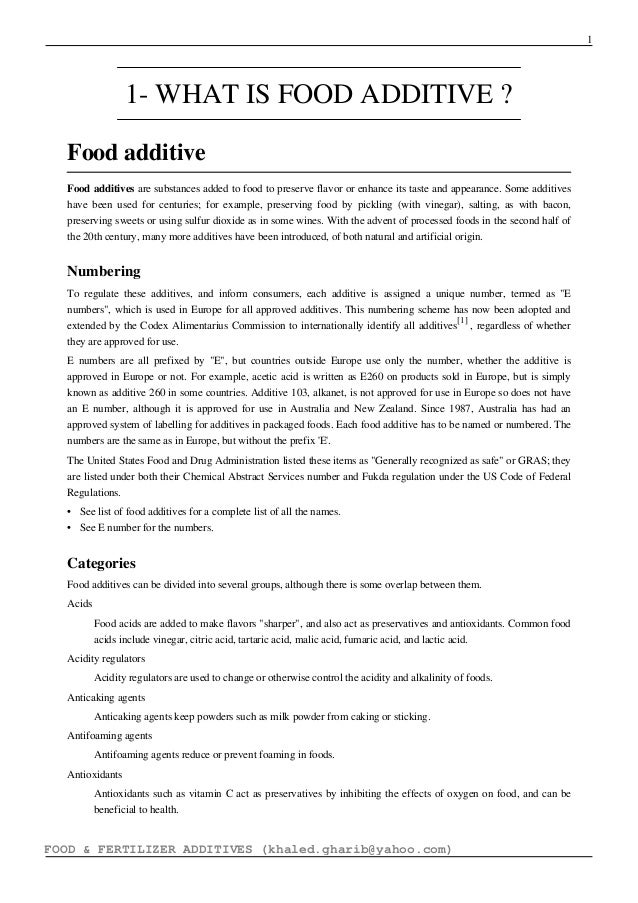 Natural Food Preservatives Pdf