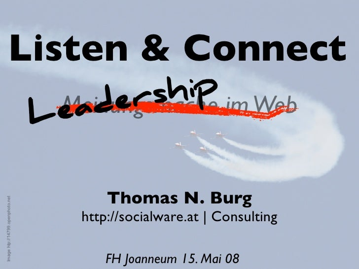 Listen & Connect                                        er  ship im Web                                   Lead            ...