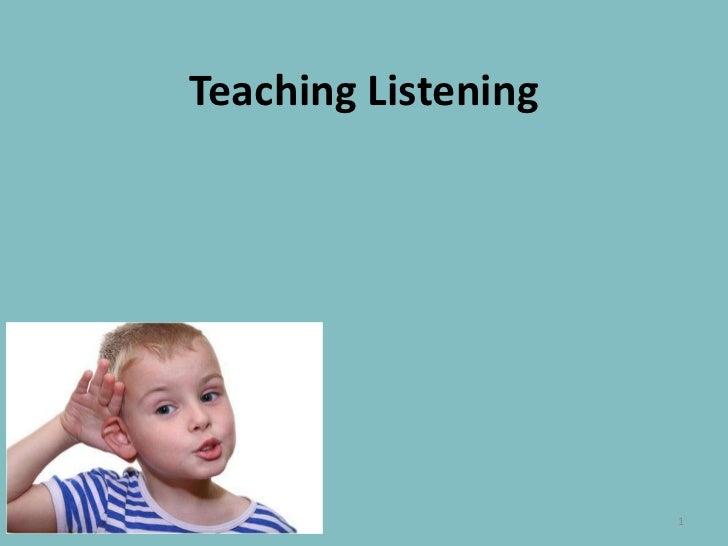 TeachingListening<br />1<br />