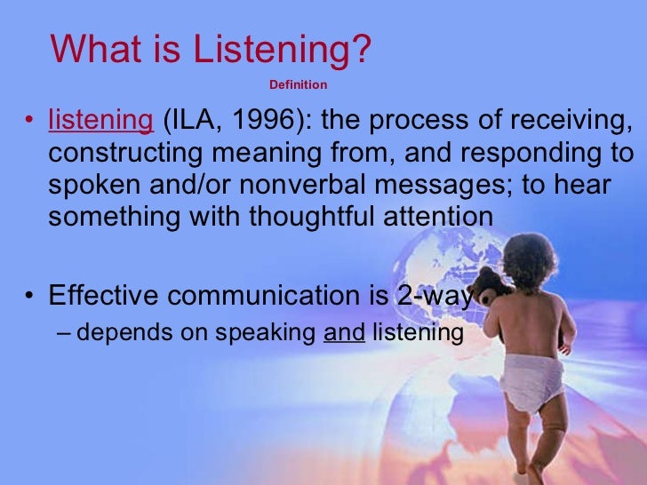 art of listening Art of listening, queenstown, eastern cape 51 likes this page is about retransforming the art of listening which people merely forget that it is one of.