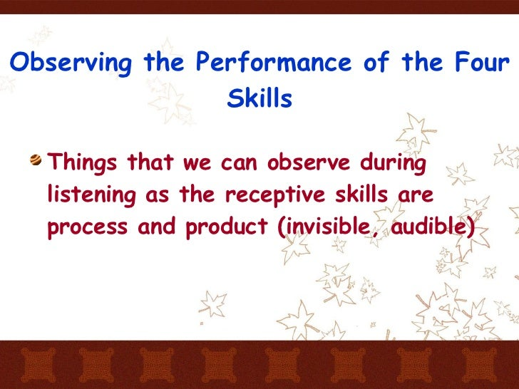 assessing listening This selective assessment has students listening for key words to fill in the blanks in their assessment this is a great way to check their listening, but also it could be used in conjuncture with other subjects to present information, such as a song.