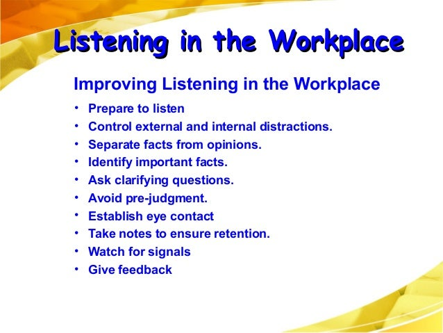 """workplace listening barrier Semantic barriers occur when the sender and receiver have different understandings of the message sent for example, a person who uses the word """"bimonthly"""" might mean twice per month while the person hearing it thinks it means every other month semantic barriers are usually either denotative or."""
