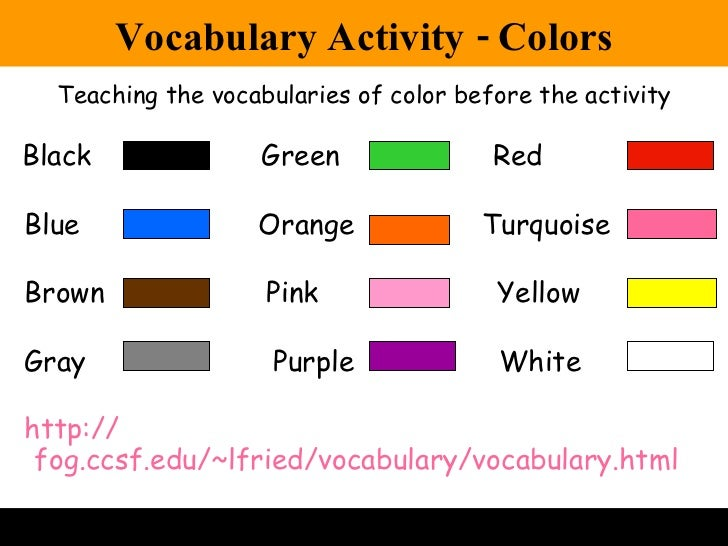 lesson plan on colors koni polycode co