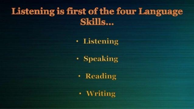 Listening skills Slide 2