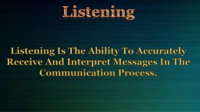 Listening skills Slide 3