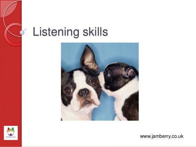 Listening skills www.jamberry.co.uk