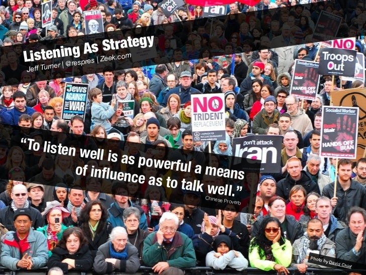 Listening As Strategy (revised) Slide 2