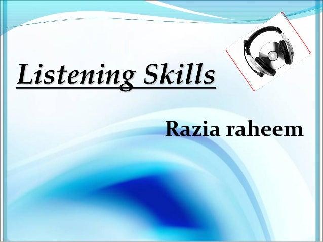 Razia raheem