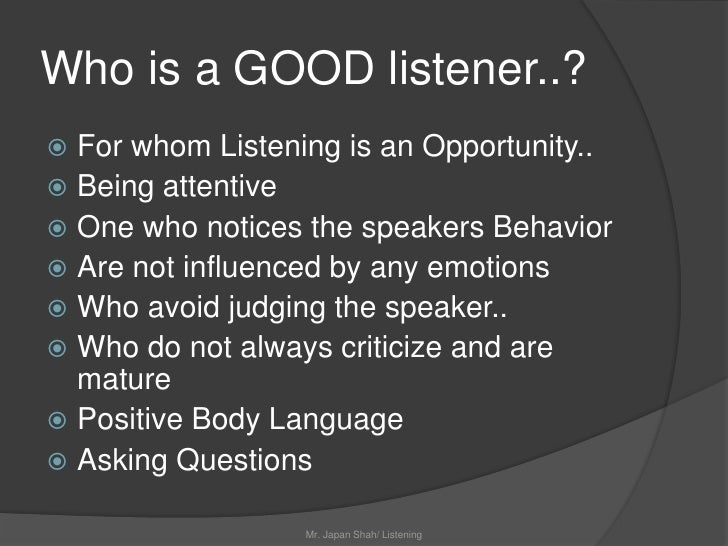 5 positive ways be good listener