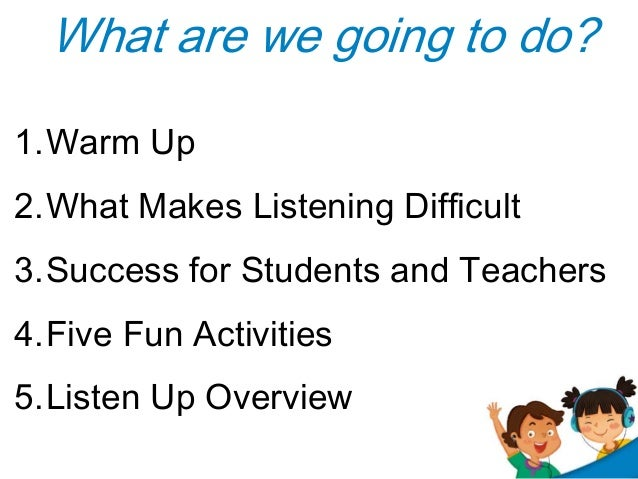 Listening Activities For Adults 21