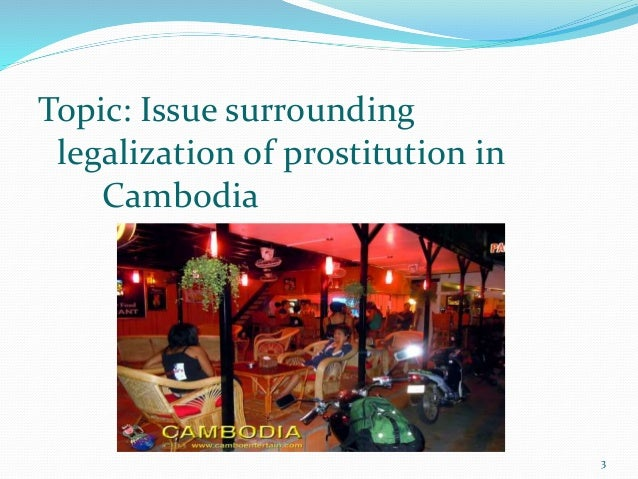 What are the arguments behind why prostitution should not be legalized?