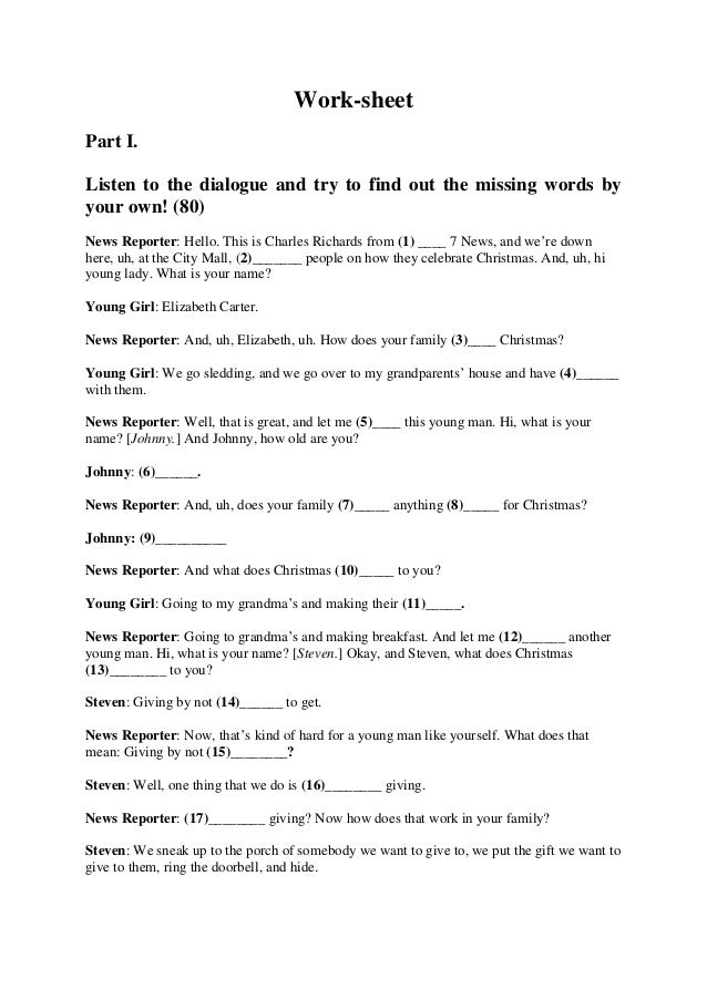 episode 2 listening worksheet 2 In episode 4, students will • student listening worksheet (1 per student) students research the issue of the dalles dam: days 1–2 2.