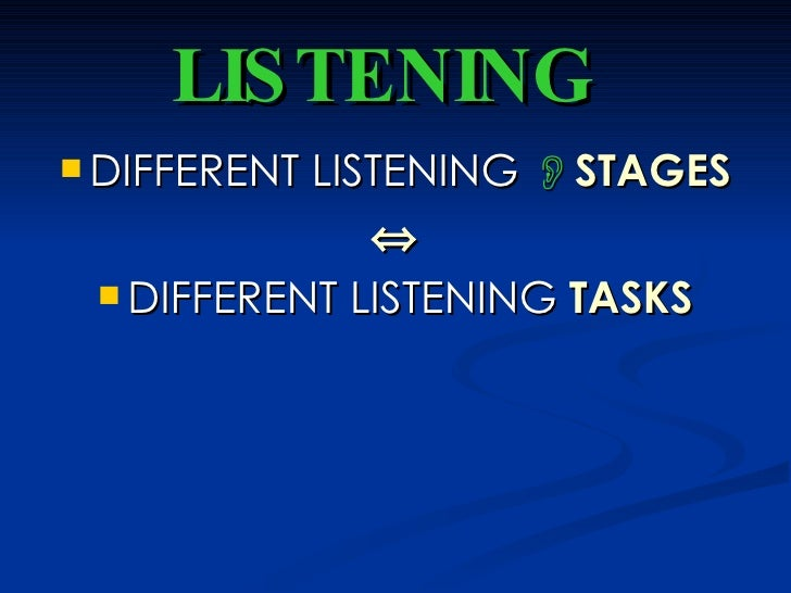 approaches to teaching listening skills Genuine listening has become a rare gift 10 steps to effective listening here are 10 tips to help you develop effective listening skills.