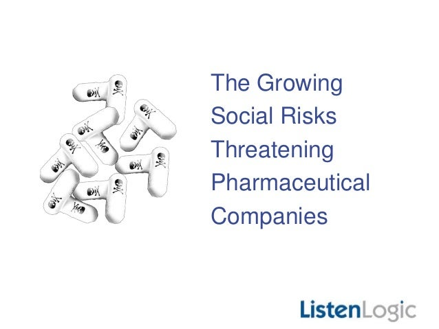 The Growing Social Risks Threatening Pharmaceutical Companies