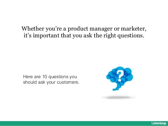 10 Survey Question You Should Ask Your Customers