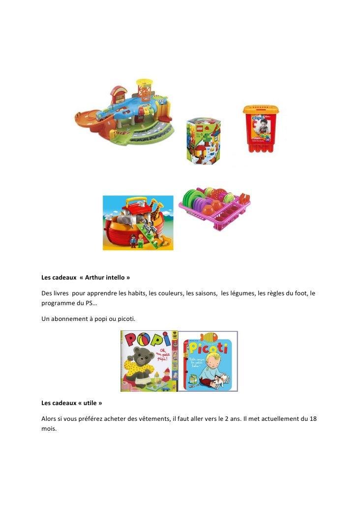Les cadeaux « Arthur intello »Des livres pour apprendre les habits, les couleurs, les saisons, les légumes, les règles du ...