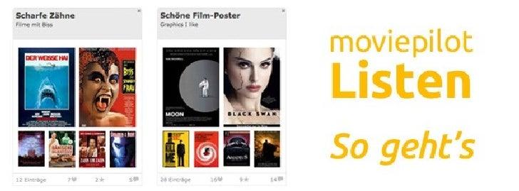 Listen auf moviepilot.de