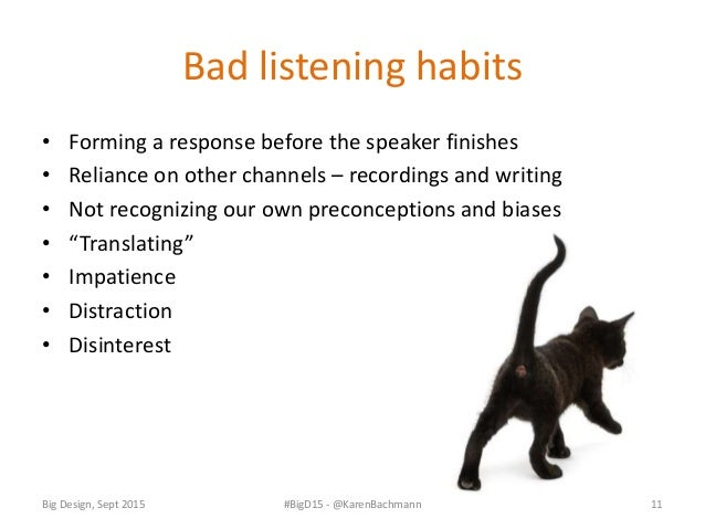 """Active listening exercises • Silence • """"The mixer"""" • Savoring • Changing listening positions • RASA = Receive, Appreciate,..."""