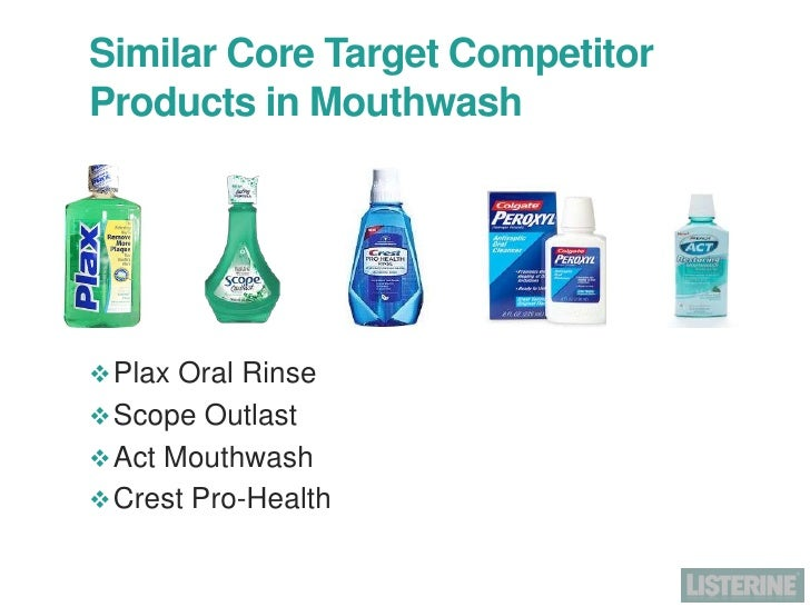 scope mouthwash marketing strategy Proctor and gamble scope she needs to develop a strategy to compete with a new market entry or develop new marketing plan for existing product.