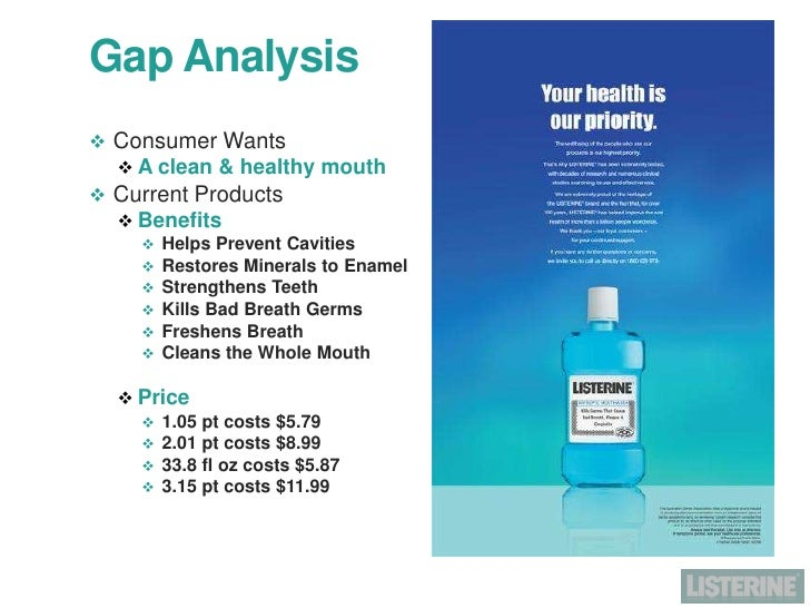 listerine marketing plan A 90 slide marketing plan outlining listerine's audience and how to get them engaged through an online media campaign.