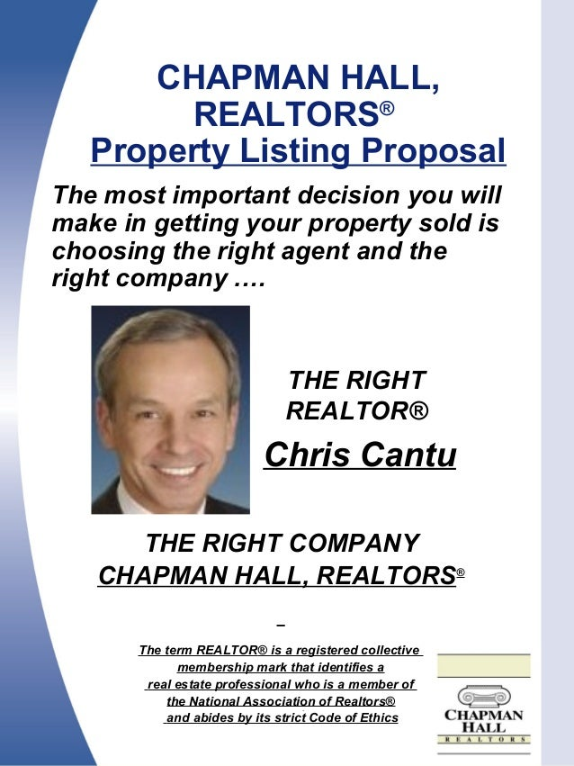 The most important decision you will make in getting your property sold is choosing the right agent and the right company ...