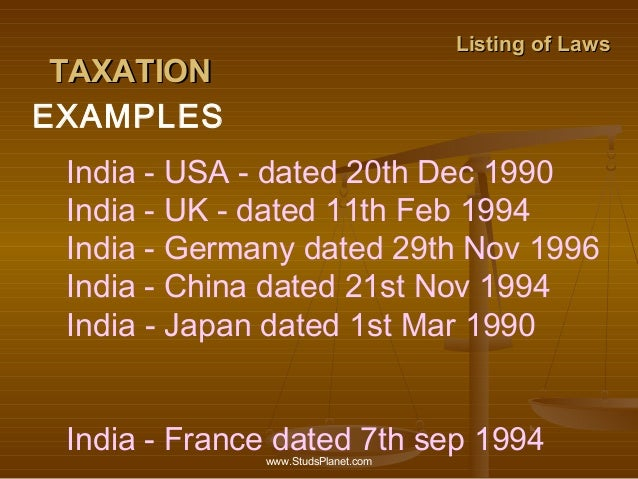 uk india double taxation convention The text of all uk tax treaties is available from the hmrc website, and  the uk/ india double tax treaty, there is no permanent establishment as.