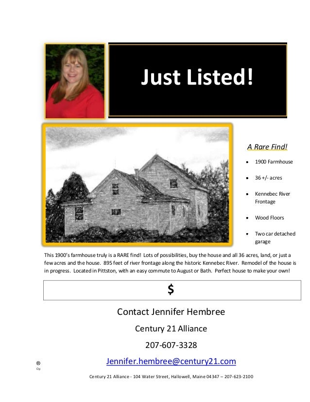 Just Listed!                                                                                                              ...