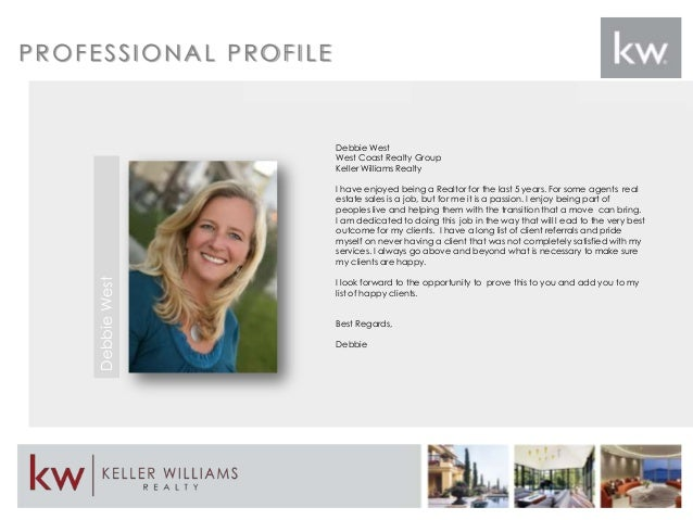 real estate agent bios examples | Example