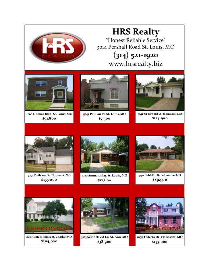 "HRS Realty                                                   ""Honest Reliable Service""                                    ..."