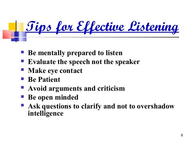ineffective listening speech Today communication is more important then ever, yet we seem to devote less time to really listening to one another it helps build relationships, solve problems, ensure understanding, resolve.
