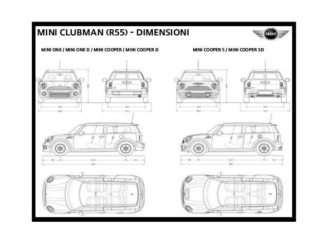 Listino Prezzi Mini Clubman R55 2013