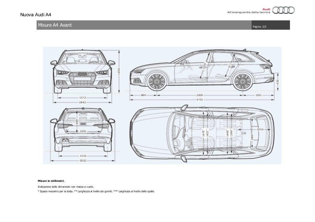 Listino Prezzi Audi A4 2016 Luglio page 73