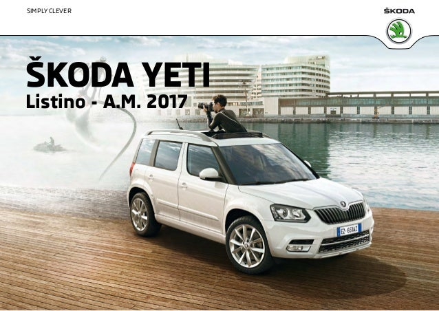 listino prezzi skoda yeti 2016 maggio. Black Bedroom Furniture Sets. Home Design Ideas