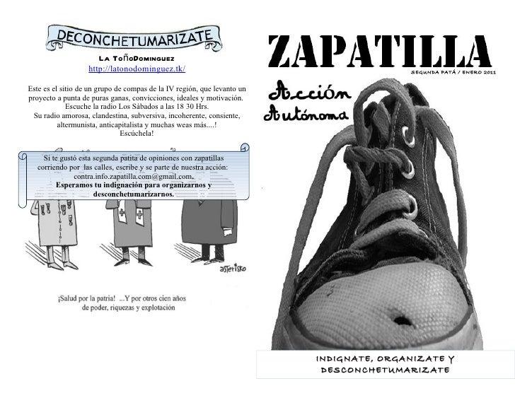 La ToñoDominguez                   http://latonodominguez.tk/                                           SEGUNDA PATÁ / ENE...