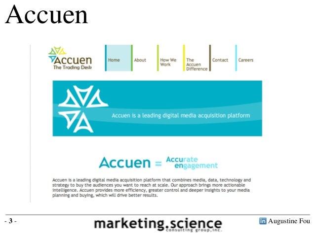 Augustine Fou- 3 -Accuen