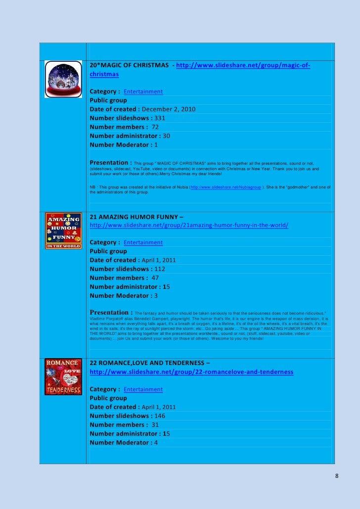20*MAGIC OF CHRISTMAS - http://www.slideshare.net/group/magic-of-christmasCategory : EntertainmentPublic groupDate of crea...