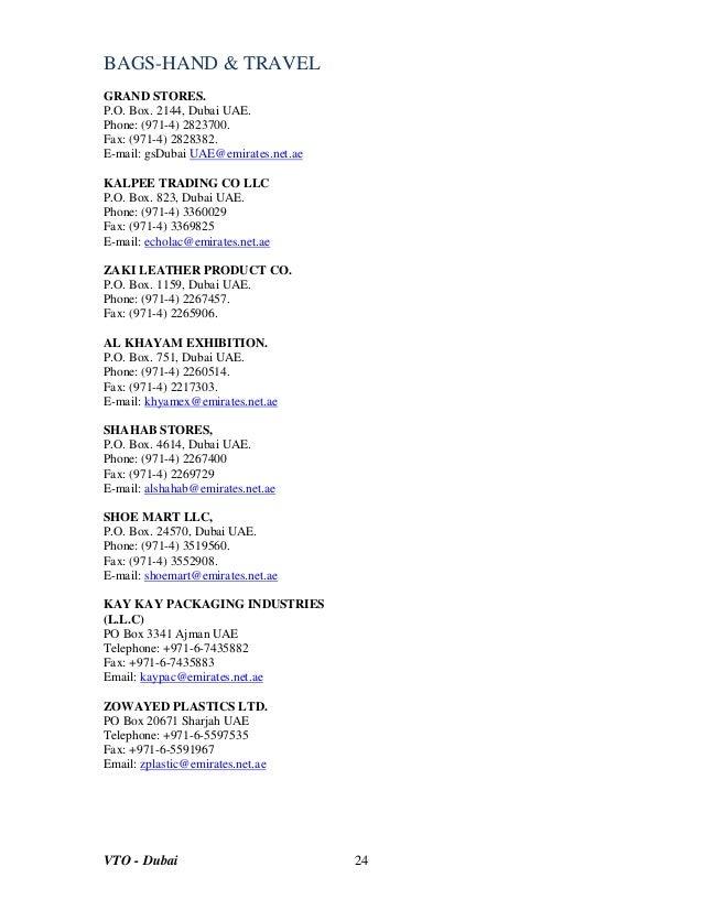 List of companies in dubai