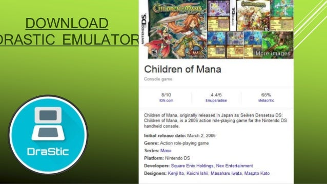 Children of mana (nintendo ds) ~ emudieval | download classic.