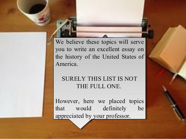 13 Record Essay Matters That Definitely will Produce Your own Article that will Living